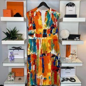 💙❤️💚 JAX LINEN BLEND DRESS